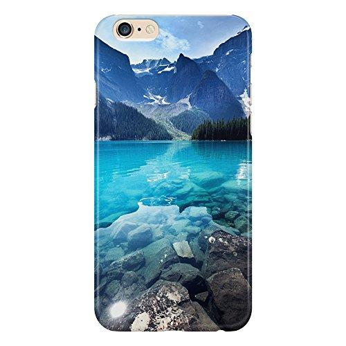 Cover Custodia Protettiva Paesaggio Lago Montagna Freddo Pini Landscape Wallpaper Alpino Design Natura Case Iphone 4/4S/5/5S/5SE/5C/6/6S/6plus/6s plus Samsung S3/S3neo/S4/S4mini/S5/S5mini/S6/note