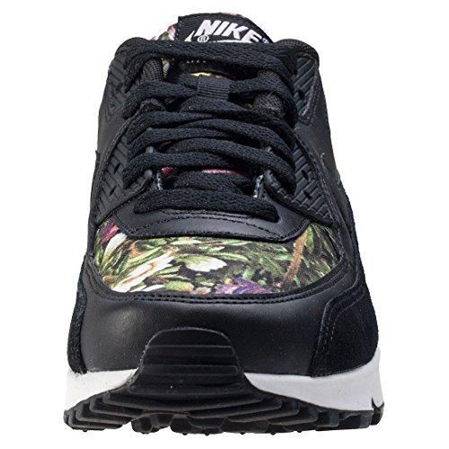 Nikeair Max 90 Se Print - Sandales Compensées À Fleurs Noires Pour Femme