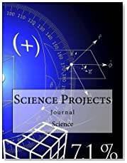Science Projects Journal: Journal with 150 lined Pages