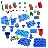 Proops Schnitzmesser-Set jede Kerze Schiebeleiste Wir verkaufen, ARC, Votivkerze, Nummer, Alphabet, Säule, Star, Pyramide, Rocket, Kugel etc. (s7678). Versandkostenfrei innerhalb UK