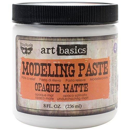 Unbekannt Prima Marketing finnabair Art Basics Modellierpaste 8oz-Opaque matt -