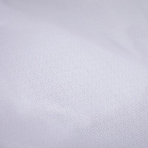 Curt Bauer Mako Brokat Damast Bettwäsche Calibri Größe 140×200+70×90 cm Farbe Kreide