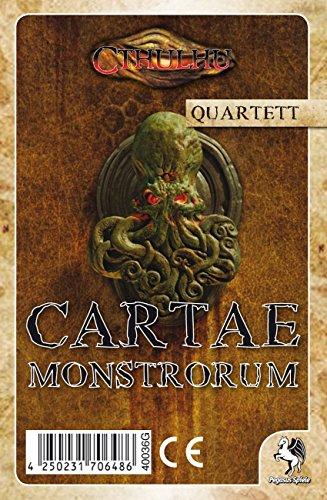 Pegasus Spiele 40036G - Cartae Monstrorum Quartett