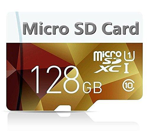 Bondisk, 128-GB-Hochgeschwindigkeits-Micro-SDXC-Karte, Klasse 10, mit SD-Adapter