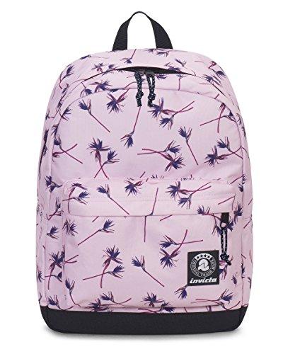 ZAINO INVICTA - CARLSON - Pink Paradise fantasia rosa - tasca porta pc padded - americano 27 LT