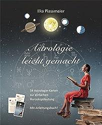 Astrologie leicht gemacht: 34 Astrologie-Karten zur einfachen Horoskopdeutung - mit Anleitungsbuch