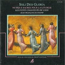 Soli Deo Gloria (Musique Sacree Pour La Liturgie) [Import anglais]