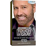 Just For Men Pack Of 5 : Touch Of Grey Lgt-Med Bro Size 1ct Touch Of Grey Light To Medium Brown