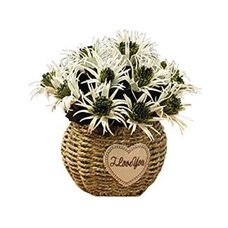 Black Temptation Flores Artificiales decoración de la Mesa de café Adornos-Dragon Begonia-Verde
