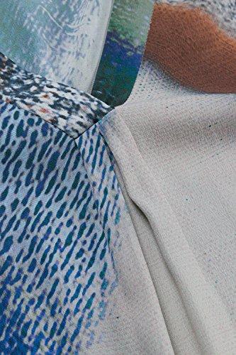 Ulla Popken Femme Grandes tailles Tunique 705818 Multicolore