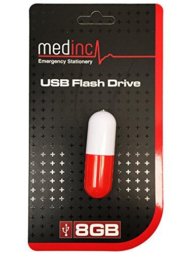 Bastoni medica tema 8gb di memoria usb, ottimo per studenti (capsula pillola)