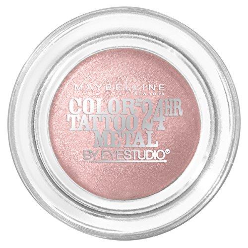 MAYBELLINE Eye Studio Color Tatoo Metal 24Hr Cream Gel Eye Shadow - Inked In Pink