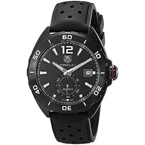 TAG Heuer de hombre waz2112. FT8023Fórmula 1pantalla analógica Swiss–Reloj automático