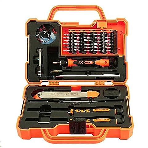 Professionelle Präzision Schraubenziehen Set ( 45 in 1 ) Reparatur Werkzeuge für Smartphone, Notebook, iPad, Samsung Galaxy/Tab, HTC, LG, OnePlus