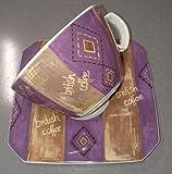 Seltmann Weiden Set Kaffeebecher + Milchkaffeetasse mit Untertasse 23585