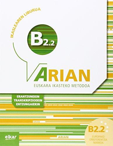 Arian B2.2 Ikaslearen liburua (+CD audioa) por Batzuk