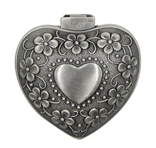 hossty im europäischen Stil Metall Jewelry Box Case Retro Antikes Schmuckkästchen Ringe Ohrringe Box, Box 1, Einheitsgröße