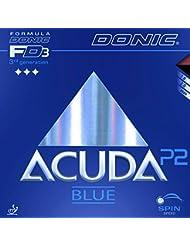 Tenis de Mesa Combinado DONIC acuda Blue P2, 2.00mm, Negro