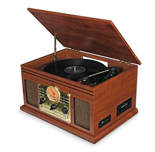 Record Player Vinyl Turntable wi...
