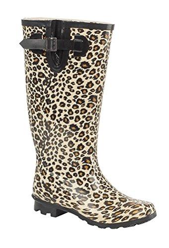 Donna leopardato stivali,