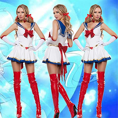 Mars Sailor Moon Mercury Cartoon Kostüm Cosplay Film Mädchen Kleid Halloween Kostüm ()