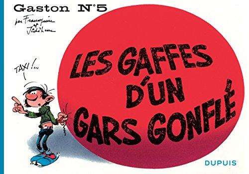 Gaston à l'italienne - tome 5 - Les gaffes d'un gars gonflé