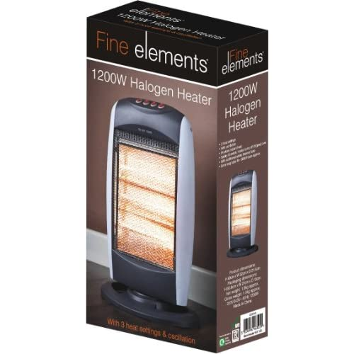 51L8U1OoCGL. SS500  - Fine Elements HEA1004 Heater, Plastic, 1200 W, White
