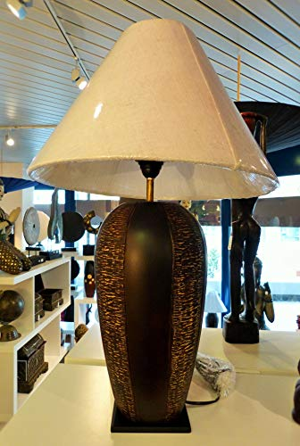 generisch Lampe Lotus Mangoholz