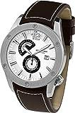 Jacques Lemans Herren-Armbanduhr XL Analog Automatik Leder 1-1765B