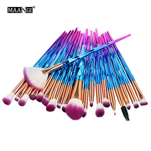 MEIbax 20st Kosmetik Pinsel Make-up Pinsel-Sets /20PCS bilden Foundation Eyebrow Eyeliner erröten kosmetische Concealer Pinsel (C)