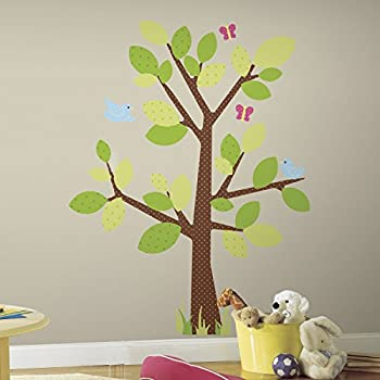 Wonderful RoomMates Repositionable Childrens Wall Stickers Kids Tree Part 11