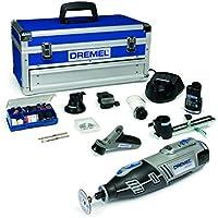 Dremel 8200-5/65 Outil rotatif multi-usage sans fil Li-Ion (10,8V) 1 coffret alu 2 batteries 5 adaptations et 65 accessoires