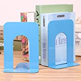 #6: Tiedribbons&Reg; Handcrafted Non-Skid Base Steel Bookends (1 Pair)(Blue)