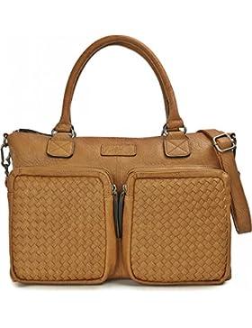 MIYA BLOOM, Damen Handtaschen, Schultertaschen, Henkeltaschen, Aktentaschen, Umhängetaschen, 41 x 29 x 10 cm (...