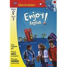 Enjoy English ! : Cahier de révision Anglais 6e à la 5e (1CD audio)