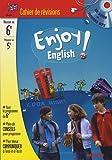 Image de Enjoy English ! : Cahier de révision Anglais 6e à la 5e (1CD audio)