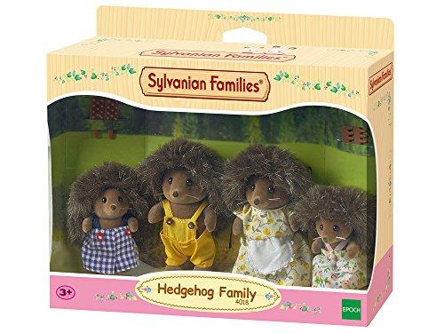 Sylvanian Families 4018 4018-Igel Familie von Stachel, Puppenfamilie, Mehrfarbig -