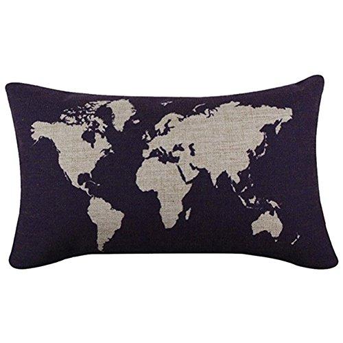 bluelans-home-couvre-lit-dcoratif-taie-doreiller-en-coton-taie-doreiller-housse-de-coussin-motif-car