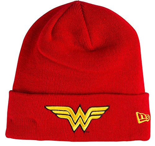 New Era Wonder Woman Super Cuff Beanie Women Red Mütze DC Comics - Dc-mütze