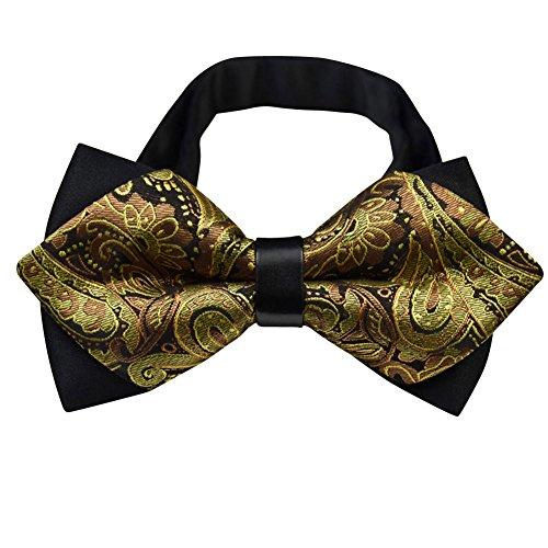 Elegante Seiden-Fliege für Herren - verstellbar - perfekt zu Anzug und Hemd