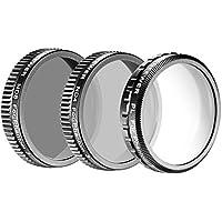 Neewer® for DJI Phantom 4, DJI Phantom 3 Professional and Advanced Filter Set: (1)Polarizer Filter+(1)ND4 Filter+(1)ND8 Filter Made of High Definition Glass, Not for DJI Phantom 3 Standard