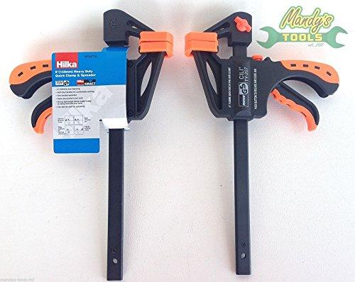 kaufen 2Hilka 15,2cm 150mm Heavy Duty Schnelle Ratsche Bar F Klammern & Spreader 64020706