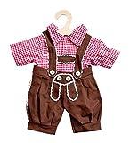 Heless 2112 Kniebundhose mit Hemd, Größe 35 - 45cm