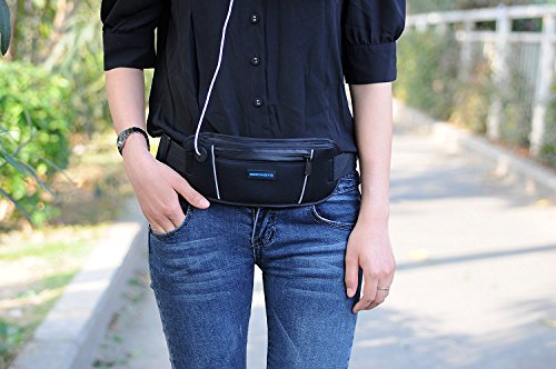 Producto nuevo running cinturón cartera, Running cintura Pack bolsa para hombres y mujeres