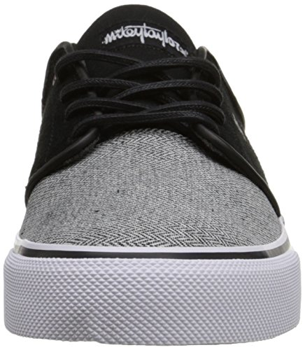 DC Frauen Mikey Taylor Vulc TX SE Low Top Schuh Grey/Grey/Black