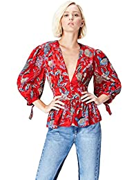 FIND Blusa Estilo Kimono para Mujer