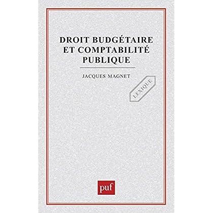 Droit budgétaire et comptabilité publique