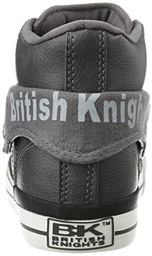 British Knights Damen Roco High-Top Gris Foncé