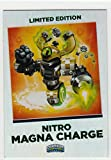 Skylanders Swap Force Magna Charge Cards Nitro Trading Limited Edition