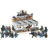Super SWAT fuerzas especiales (16minifiguras)–Militar ejército Building Blocks Ladrillos Sets Toys Minifiguras (de regalo con caja original)